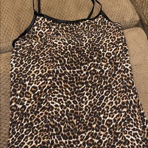 🏀3 for $10! Animal print tank top size XS